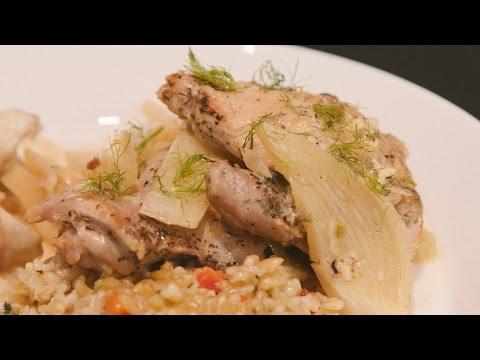 La Vie Rustic with Georgeanne Brennan - featuring CornuFe - Braised Chicken & Fennel