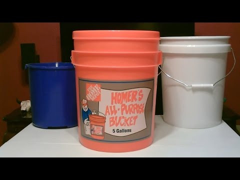 "DIY ""5 Gallon Bucket"" Creations! (Air Filters, AC & Evaps, Sinks, Showers etc...) - many solar pwrd!"