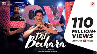 Dil Bechara-title video song ft. Sushant Singh Rajput, sun..