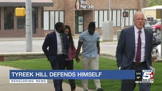 Tyreek Hill defends himself against accusations via attorney's letter