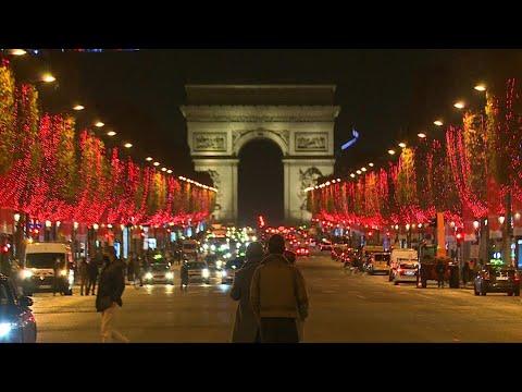 Paris launchs the Christmas season lights on the Champs Elysees | AFP photo