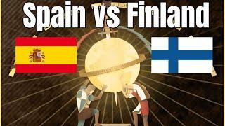 Spain vs Finland | Sick Game 2