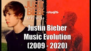 Justin Bieber - The Complete Music Evolution (2009 - 2020)