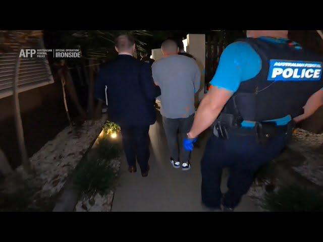 美歐紐澳警調攜手 破獲百餘國逾3百黑幫