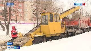 С последствиями снегопада борется больше 200 единиц техники