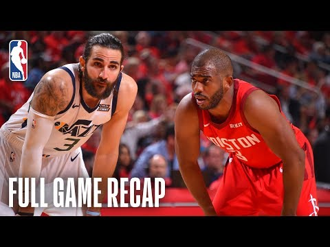 JAZZ vs ROCKETS | Clutch Defense Clinches Series | Game 5