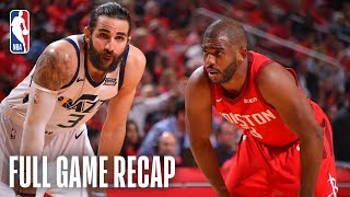 JAZZ vs ROCKETS   Clutch Defense Clinches Series   Game 5