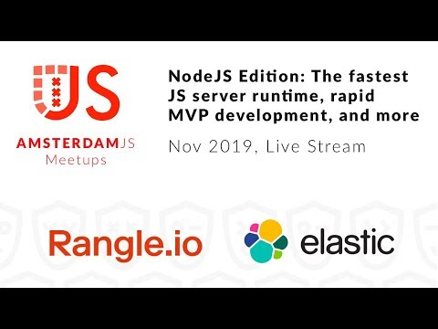 NodeJS Edition: The fastest JS server runtime, rapid MVP development, and more