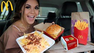 Big Mac & Animal Style Fries Mukbang!! McDonalds