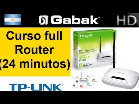 Router TP-LINK explicacion de cada menu (24 minutos super curso)
