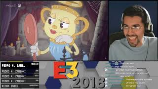 E3 2018 - Cuphead in the Delicious Last Course - DLC Trailer Reaction!