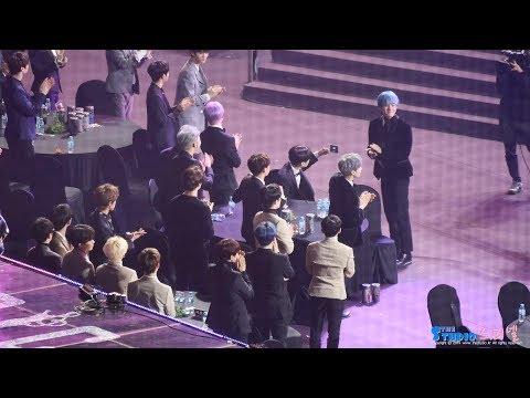 190115 방탄소년단 BTS 가수대기석 본상 수상 4K 직캠 @ 서울가요대상 by Spinel