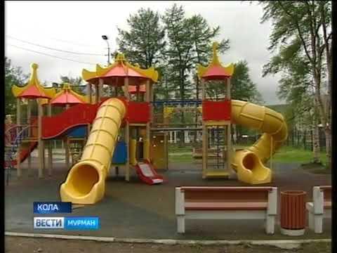 Прокуратура Кольского района проводит проверки состояния уличных детских игровых площадок в начале летнего сезона