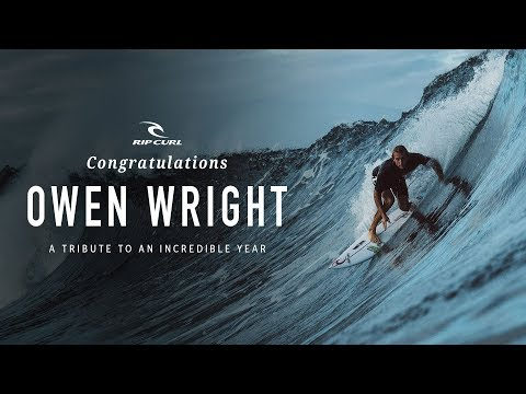 Congratulations Owen Wright | A Tribute to an Incredible Year