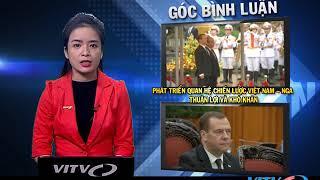 Bản tin Trên Từng Kinh Tuyến phát sóng 20 50 20 11 2018. Phút thứ 11: quan hệ kinh tế Nga-Việt