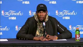 Stephen Curry, Kevin Durant NBA Finals Game 3 Press Conference