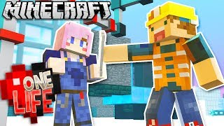 BUILDING A CRAZY MACHINE WITH LIZZIE! | One Life SMP #18