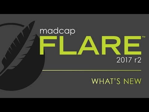 What's New in MadCap Flare 2017 r2