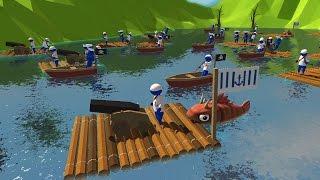 Pirate Ship Battles! Giant Pirate Ship Navy Epic Battle Simulator - Stupid Raft Battle Simulator