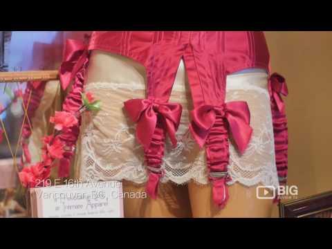 Lace Embrace Atelier Inc. Retail Shop Vancouver for Undergarments and Underwear