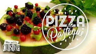 Recettes de cuisine : Ma petite cuisine La recette de la pizza pastèque en vidéo