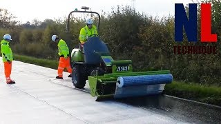 World of Modern Technology Road Construction with Amazing Machines and Skilful Workers