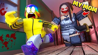my Roblox MOTHER is POSSESED.. 👩🔪