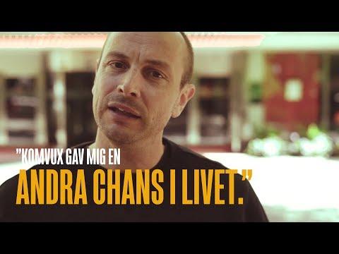 """""""Komvux gav mig en andra chans i livet"""" - Petter berättar hur han började föreläsa"""
