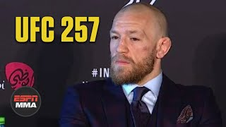Conor McGregor discusses UFC 257 loss, responds to Khabib Nurmagomedov tweet | ESPN MMA