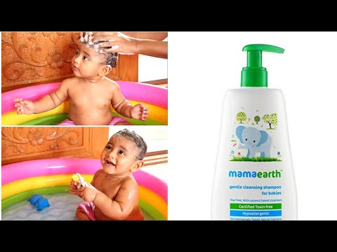 video Mamaearth Gentle Cleansing Shampoo for babies Review<span class=