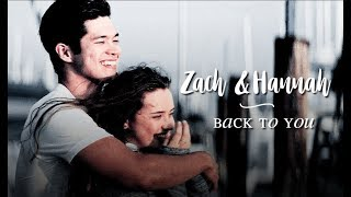 Hannah & Zach   back to you   [ 13 reasons why ]
