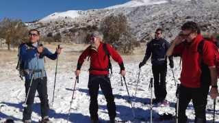 Montagna Uisp sull'Etna, Carlo Paris per Rai Sport 1