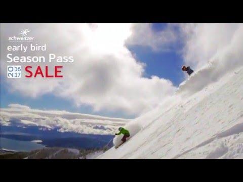 Schweitzer Mountain Resort 16/17 Early Bird Season Pass Sale