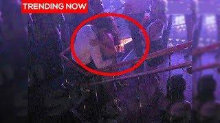 Cristiano Ronaldo groping Kathryn Mayorga - CLIP