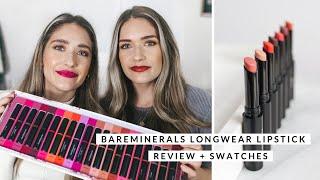 bareMinerals BAREPRO Longwear Lipstick Review + Swatches