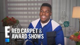 "John Boyega Tells All on Filming ""Star Wars: The Last Jedi"" | E! Live from the Red Carpet"