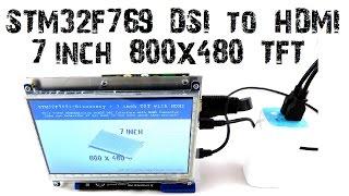 STM32F769i Discovery MIPI DSI Display Demonstration