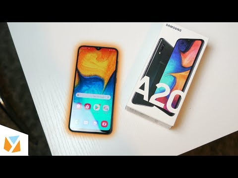 video Samsung Galaxy A20