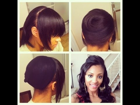 Astounding Ponytail Hairstyles With Clip Ins Picture Ideas With Pixie Haircut Short Hairstyles Gunalazisus