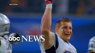 Rob Gronkowski speaks out about NFL retirement | ABC News