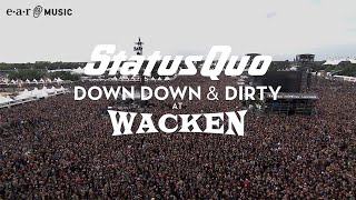 """Status Quo """"Whatever You Want"""" (Live at Wacken 2017) - from """"Down Down & Dirty At Wacken"""""""