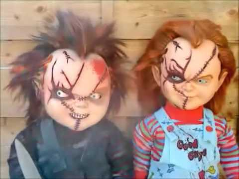TNG / monster toys chucky dolls / replica's - YouTube