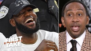 Stephen A. gives LeBron and Draymond props for speaking up for student-athletes | First Take