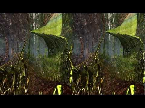 3D Stereoscopic Demo. Wonderful World of Fractal Mathematics by SanBase.org
