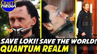 Time Travel Quantum Realm Explained! Why does Tony want [SPOILER]? Avengers 4 Theory!