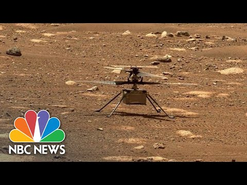 Live: NASA's First Controlled Flight On Mars | NBC News