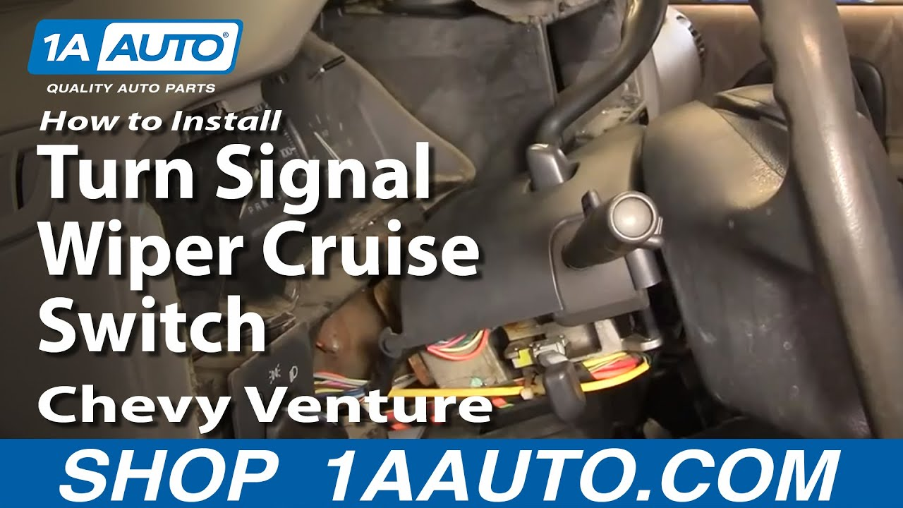 How To Install Replace Turn Signal Wiper Cruise Switch