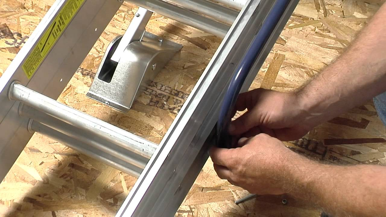 Werner Compact Attic Ladder Long Installation Video