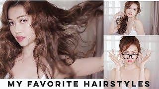 Các kiểu tóc đơn giản nhưng cực sexy | My Favourite Hairstyles |SI THANH