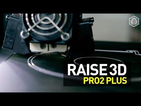 video Raise3D Pro2 Plus 3D Printer